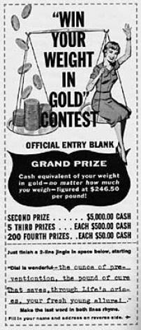 advertising contest