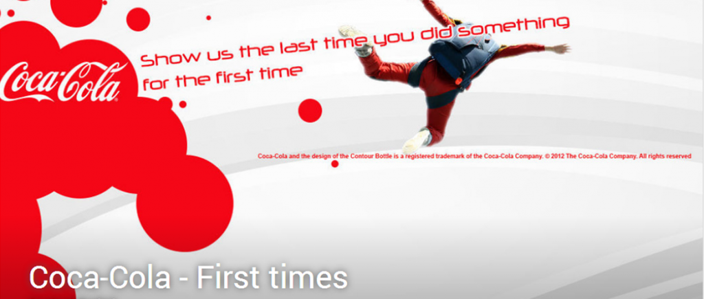 Coca-Cola - First times   Results - eYeka