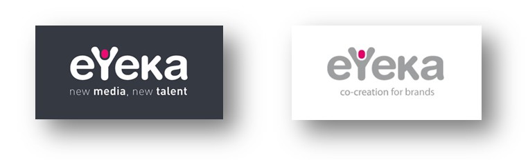 eYeka logo evolution