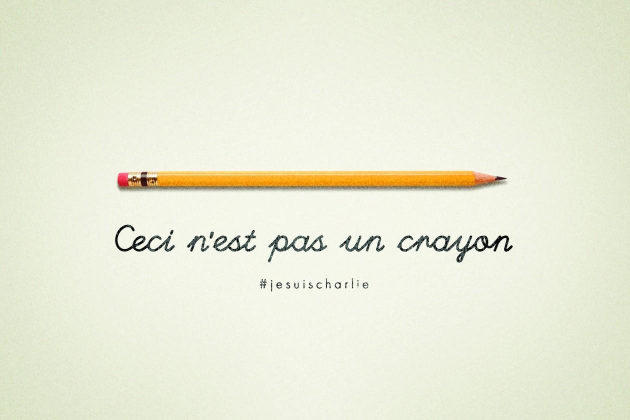 eYeka JeSuisCharlie - Ceci N'Est Pas Un Crayon