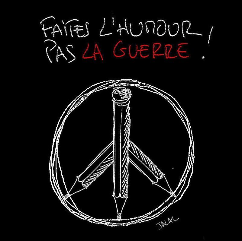 eYeka JeSuisCharlie - Faites L'Humour, Pas La Guerre