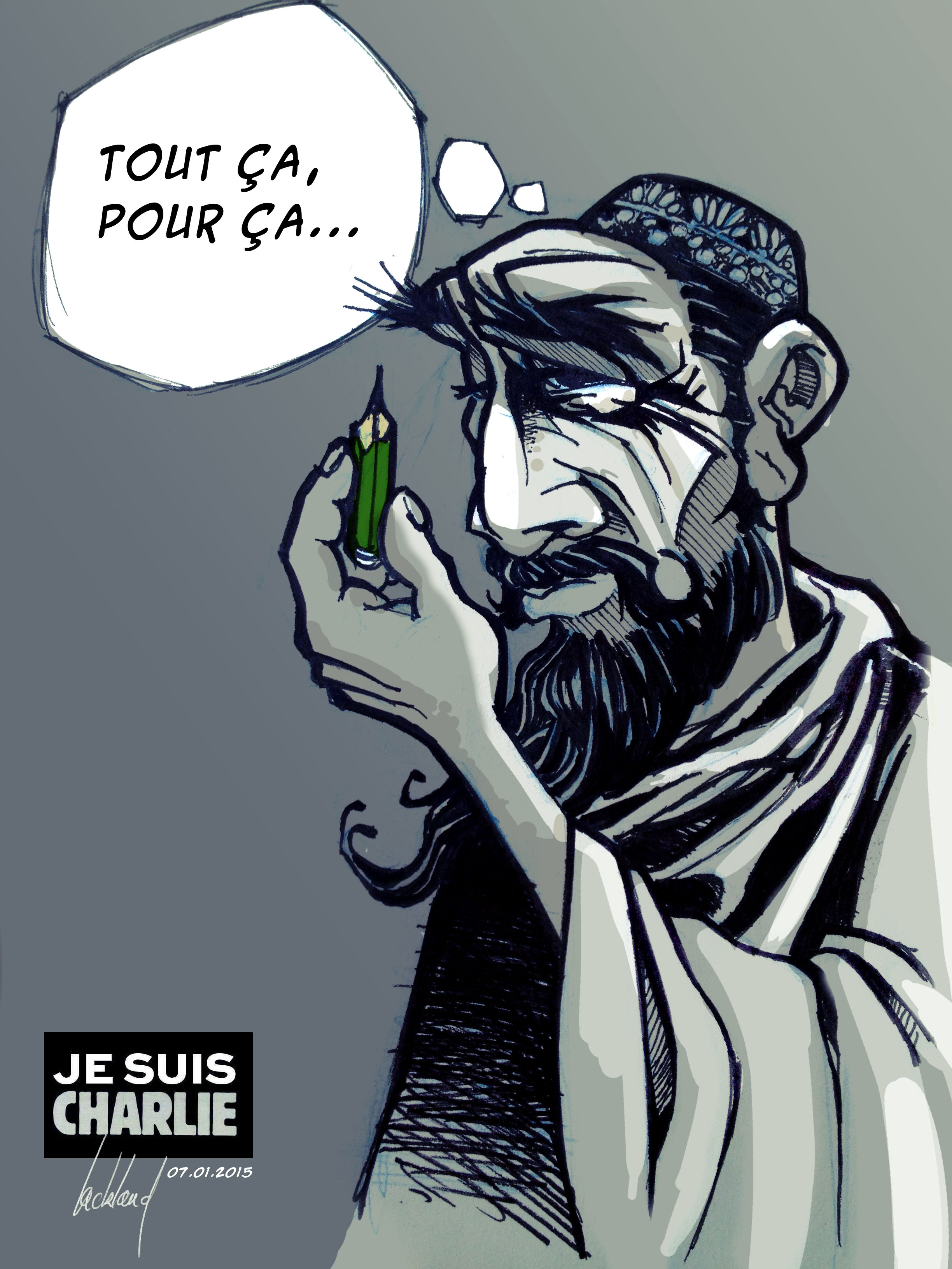 eYeka JeSuisCharlie - Tout ca pour ca