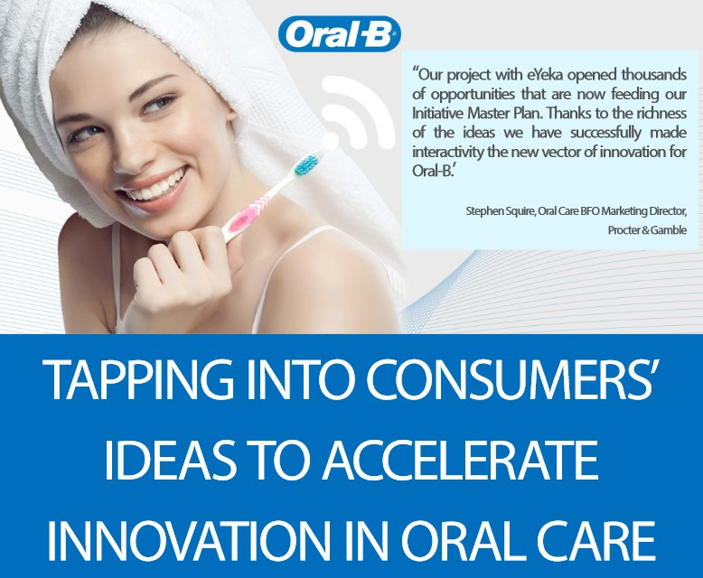 Tapping Into Consumers' Ideas to Accelerate Innovation In Oral Care