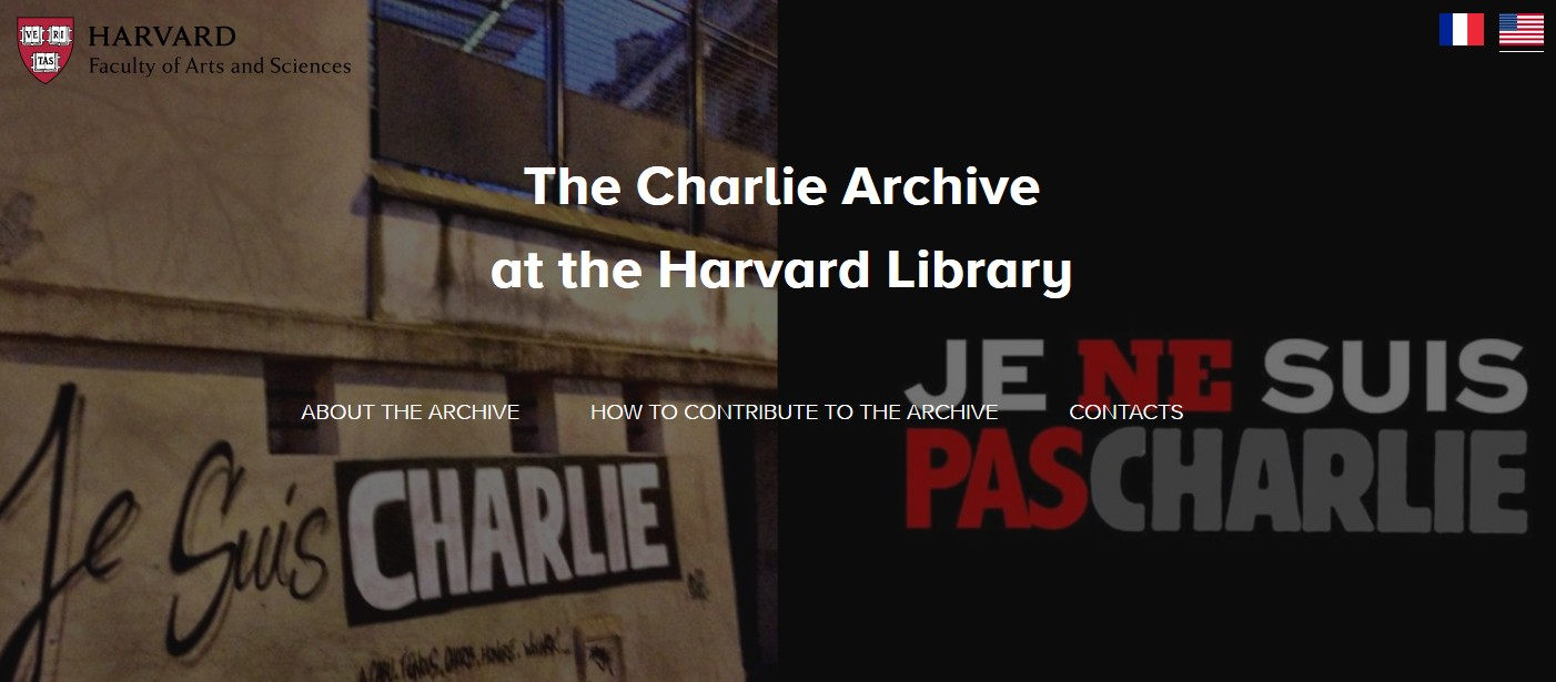 Charlie Archive at the Harvard Library Banner